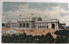 Early 1900s DB Postcard Union Station Washington DC Promoting Station Opening