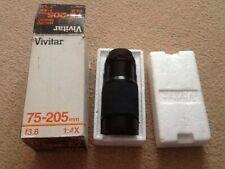 Vivitar Telephoto Lens 75-205mm Pentax Fitting