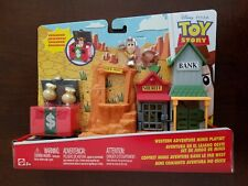 Disney Pixar Toy Story Western Adventure Minis Playset w/ Exclusive Woody Figure