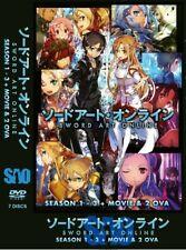 DVD Sword Art Online Alicization Season 1-3+ Movie + 2 OVA English Dubbed Anime