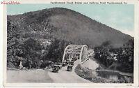 Postcard Tunkhannock Creek Bridge and Sullivan Trail Tunkhannock PA