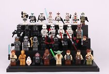 32Pcs Star wars Clone Trooper Darth Yoda C-3po Custom Mini Figure Fits Lego Toy