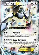 ~Pokemon Ultra Rare Holo Foil Lugia EX Card 68/98 XY Ancient Origins~!