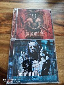 BEHEMOTH Zos Kia Cultus + Thelema 6 2 CDs (Nile Morbid Angel Deicide Vader)