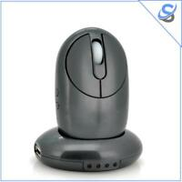 Wireless Mouse - Charging Dock with 4 USB Ports Plug and Play