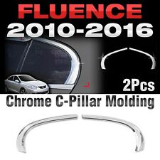 Chrome C Pillar Garnish Molding Cover Trim B913 For RENAULT 2010-16 Fluence SM3