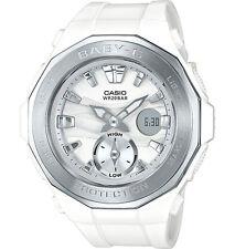 Casio Baby-G BGA220-7A Beach Glamping White/Silver Ana-Digi Watch