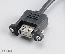 Akasa Internal to external USB adapter Cable 60cm