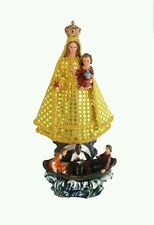 """14"""" inch Statue Virgen Caridad del Cobre Our Lady of Charity Virgin Figurine"""
