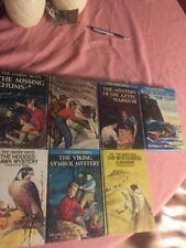 Lot Of 7 Vintage Nancy Drew Hardy Boys Mystery Books!