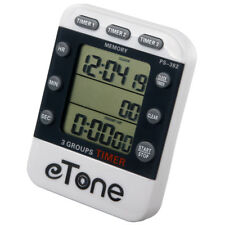eTone 3 Channel Triple Darkroom Timer Counter Film Developing Countdown Clock