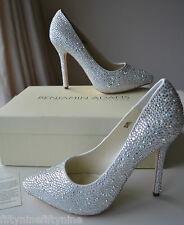 NEW BENJAMIN ADAMS SYLVIA CRYSTAL Shoes UK 6.5 / 40 / US 9  BOX  £299