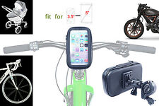 Waterproof Phone Case + Handlebar Mount Clamp for Bike | Bicycle | Motorcycle