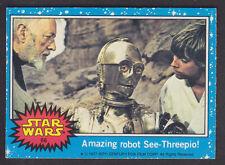 Topps Star Wars - Series 1 1977 - # 66 Amazing Robot See-Threepio