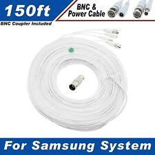 150 Ft Security Camera Cable for Samsung SDS-P5122, SDS-P5082, SDS-P4080