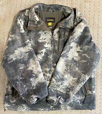 Cabela's Men's O2 Octane Camo Wooltimate Windshear Hunting Jacket - Med - RARE