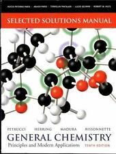 Selected Solutions Manual -- General Chemistry: Principles and Modern Applicat..