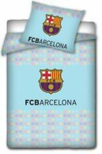 FC BARCELONA DUVET PILLOW CASE QUILT COVER FOOTBALL BABYS BEDDING SET FCB BARCA