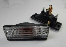 Pair Front Bumper Turn Signal Light for Toyota Corolla KE70 TE71 72 AE CE70