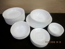 Corelle Corning White Platters, Cereal, Soup Pasta, Fruit Bowls **by the piece**