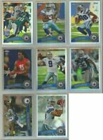 Dallas Cowboys 8 card 2011 Topps Chrome REFRACTORS lot-all different