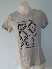Roxy Women Printed T Shirt - GREY - SIZES - XS, M & L - NEW