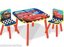 Disney Cars Sitzgruppe Tisch Kindersitzgruppe Spieltisch Kindertisch Set 527CLN