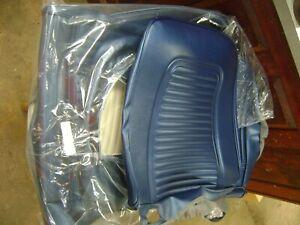 1969 Camaro Dark Blue Standard FR & RR Seat Covers Al Noch Cpe Z28 COPO