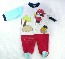 Baby Boys All-in-one Bodysuit, Pirate, colour block (6-9months)