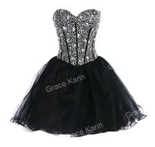 Short MINI Prom Beaded Evening Party Bridesmaid Wedding Dress Cocktail Ball Gown