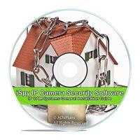 iSpy IP Camera DVR Home Security Surveillance Video Recording Software, CD V60