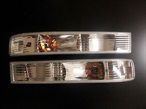 New Parking Light Lamps  Side Clear lens Savana Express Van Chevy SET
