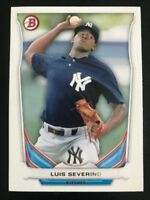 2014 Bowman Draft Top Prospects LUIS SEVERINO RC Rookie Card New York Yankees!