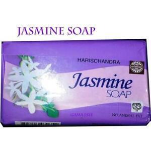 NEW JASMINE SOAP NO ANIMAL FAT FREE SHIPPING HARISCHANDRA PRODUCT