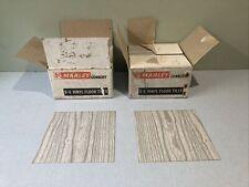 "Vintage Unused Marley 9"" x 9"" Grey Vinyl Floor Tiles x 160 Square Retro"