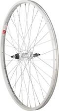 """Sta-Tru Rear 26x1.5"""" Wheel 36H 3/8""""x135mm Axle 5/6/7/8-Speed Freewheel Silver"""