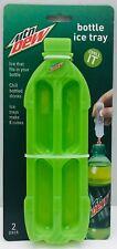 Jokari Mtn Mountain Dew Bottle Ice Tray Mold 2pk 8 cubes Fits Bottles 18300 New