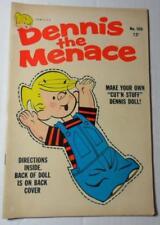 DENNIS THE MENACE COMIC #100 FAWCETT JAN 1969 COMIC STRIP PAPER DOLL ISSUE F 6.0