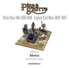 Warlord Pike & Shotte - Mortar and Crew (4) 28mm ECW TYW Artillery