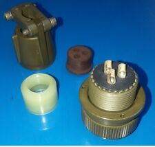 NEW - MS3106E16-10S Circular Plug Connector Solder MIL-DTL-5015 AMPHENOL - 5015