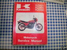 BB 99924-1018-04 Manual De Taller KAWASAKI KZ 400 500 550 GP '79 - '82