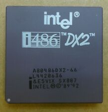 Intel SX807 / A80486DX2-66 i486 DX2 66MHz Processor / CPU - Fully Tested