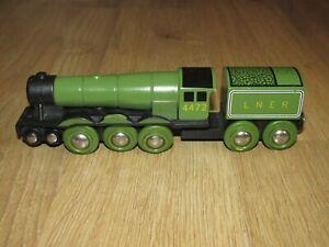 Brio Wooden LNER Flying Scotsman Train 4472
