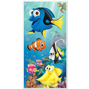 Party Supplies Decorations Birthday Nemo Boys Girls Finding Dory Door Cover