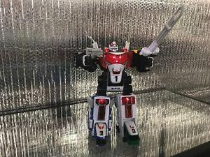 99% COMPLETE Power Rangers SPD Delta Force Deluxe Megazord w/lights & sounds