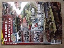 µµ Revue Champs de Bataille n°60 Corps blindé Vs Panzer Div / Styker U-976