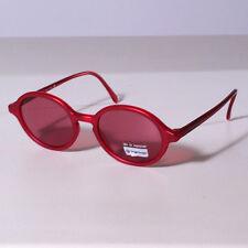 Occhiali da sole Sergio Tacchini ST 1509/S, rosso satinato, lenti brown/rosso