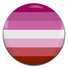 LGBT Lesbian Pride Flag 25mm / 1 Inch D Pin Button Badge