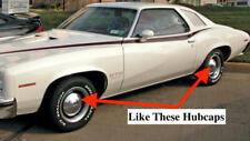 NOS PONTIAC 1973 GTO FIREBIRD DOG DISH HUBCAPS 3 PIECE SET   11