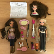 Moxie Girlz Dolls Bundle - Magic Hair Avery & Pets Sophina & Delilah the Dog